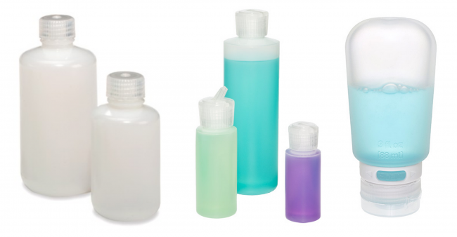 Nalgene Round Leakproof Bottles | Translucent Flip-Spout Bottles | 3 oz. GoToob