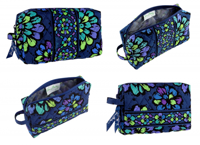 Medium Cosmetic &amp; Small Cosmetic from Vera Bradley (photo source)