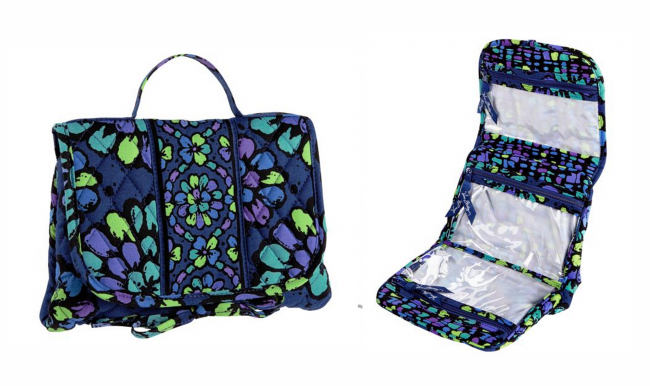 Essentials Cosmetic from Vera Bradley (photo source)