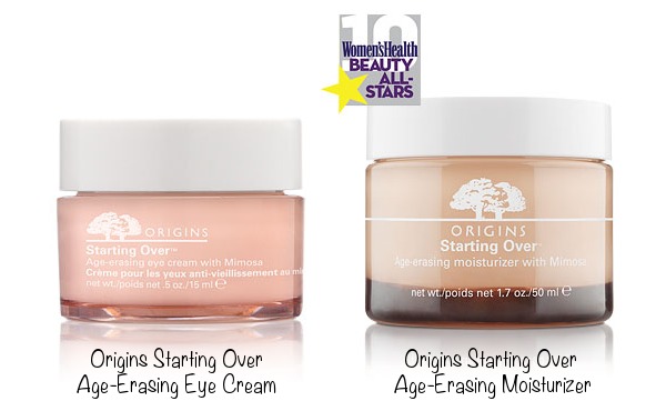 Origins Starting Over Age-Erasing Eye Cream (photo source) &amp; Origins Starting Over Age-Erasing Moisturizer (photo source)