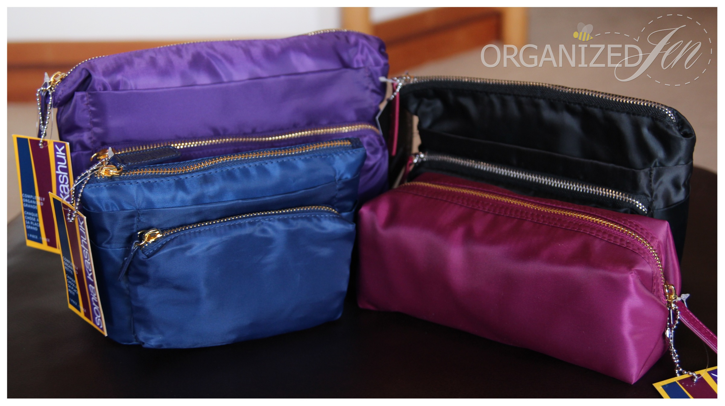 First Impressions: Sonia Kashuk Completely Organized Makeup Bags