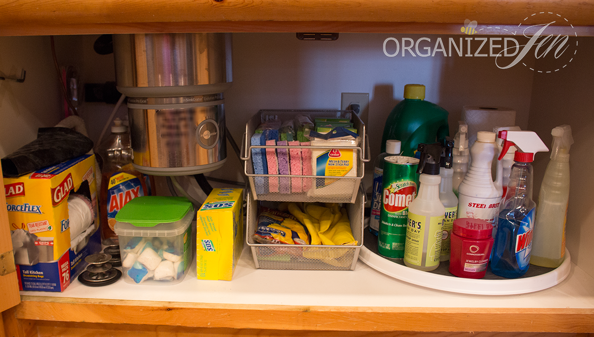 Under The Sink Organization Kitchen Series 2013