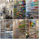 You would be amazed by the variety of food storage containers TCS offers.  There's everything from glass and plastic to metal and wood in all shapes and sizes!